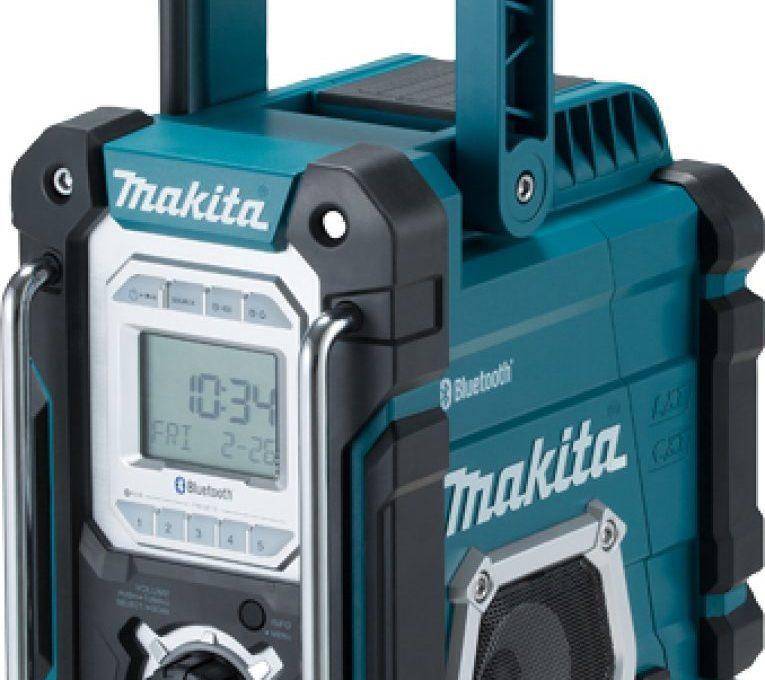 Makita DMR108 Avis : la meilleure radio de chantier ?