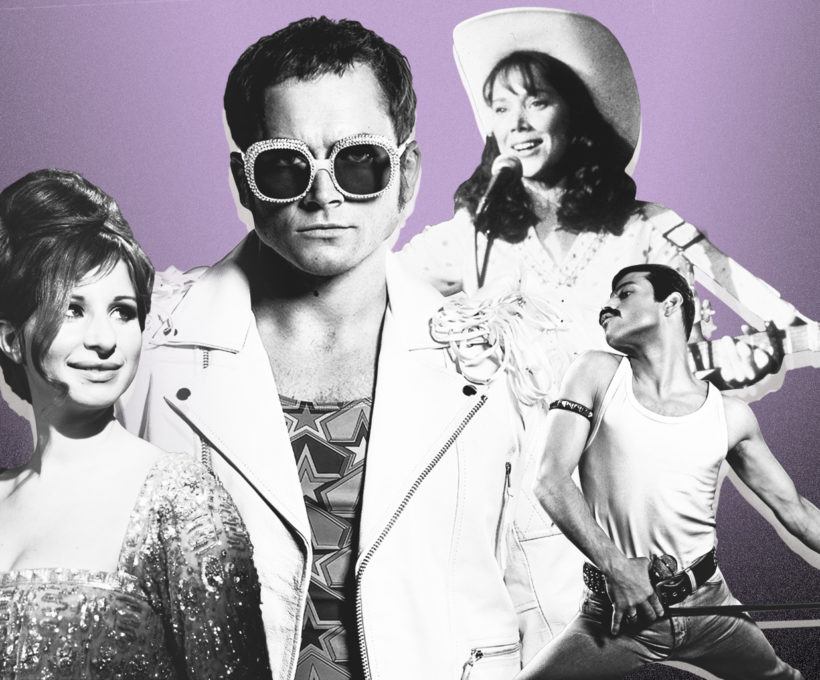 Représentations de personnalités de la musique de la vie réelle qui ont valu à Oscar Noms