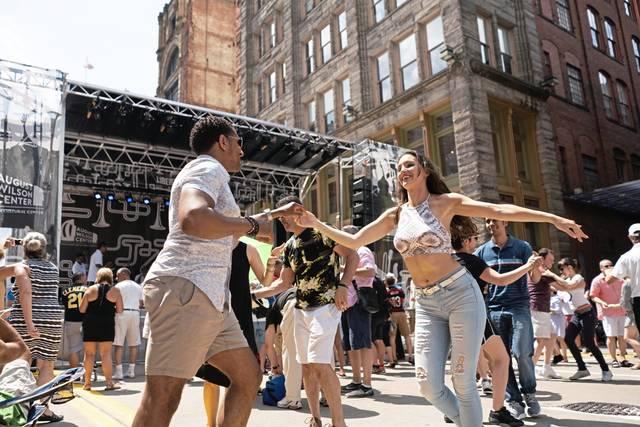 Le festival de jazz de Pittsburgh les fera danser dans les rues