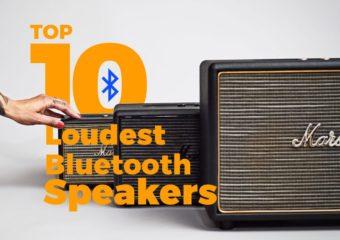 Les enceintes Bluetooth les plus puissantes du marché en 2018