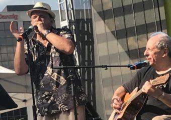 Steve Katz, ancien combattant de Woodstock, aide le festival de jazz et de blues à regagner le jardin de Morristown Green