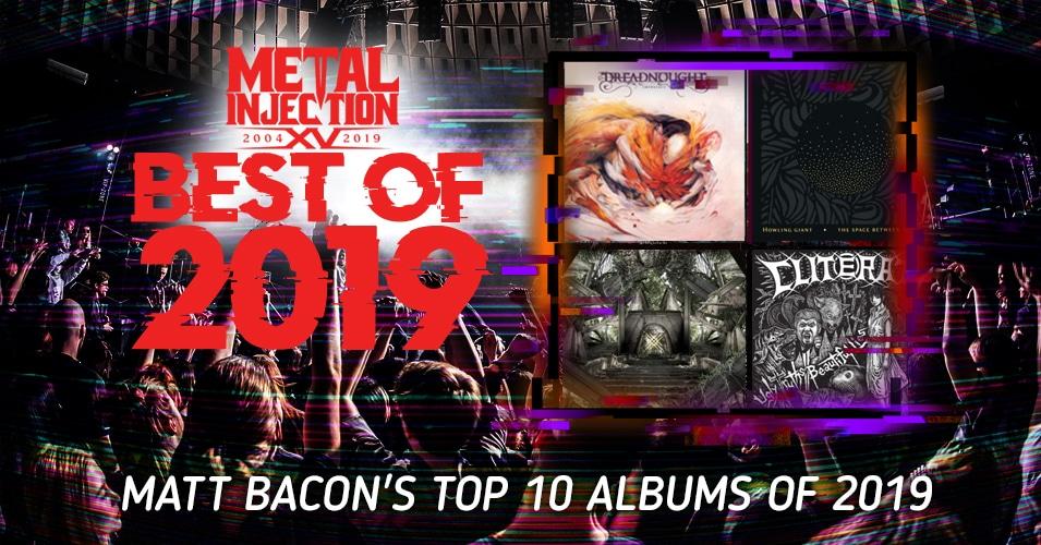 Les 15 meilleurs albums de Matt Bacon en 2019