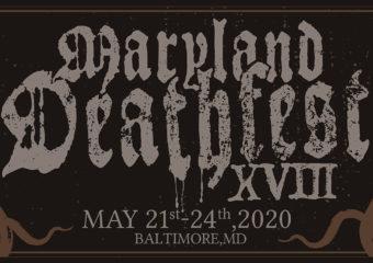 Le Maryland Deathfest passe de l'édition 2020 à 2021