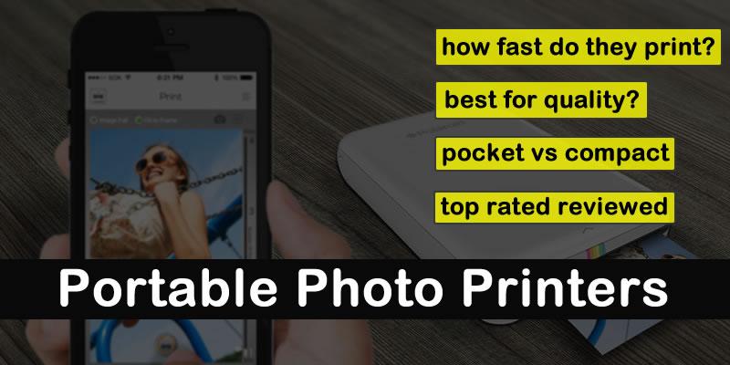 Meilleure imprimante photo portable 2020 | 4×6 Compact | Poche